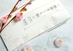 鹽竈桜飴 パッケージデザイン